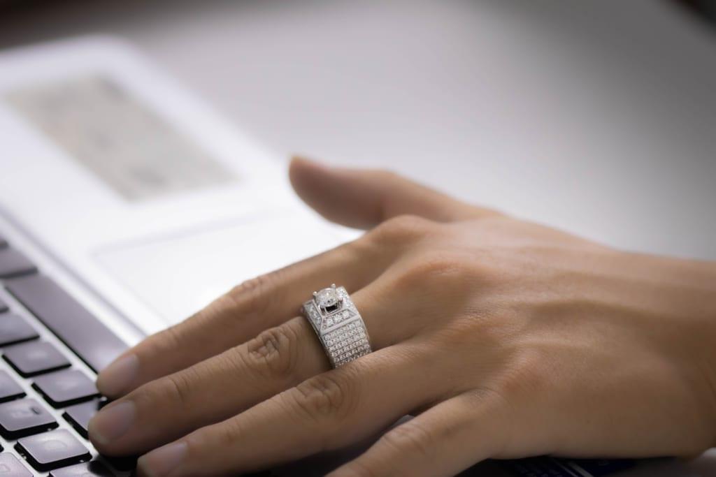 Nhẫn kim cương dưới 10 triệu