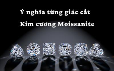 Ý nghĩa từng giác cắt của kim cương Moissanite.