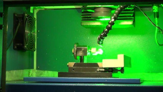 Quy trình cắt kim cương - Cắt kim cương bằng lazer